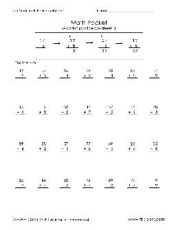 2nd Grade Math Worksheets   TheWorksheets.CoM ...