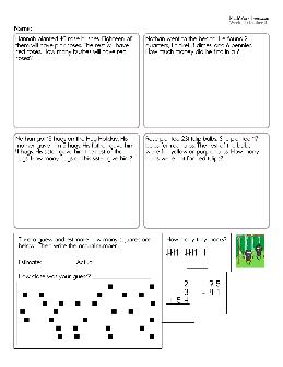 2nd Grade Math Worksheets - TheWorksheets.CoM ...